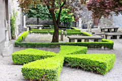 Old huguenot cemetery, Dublin, Ireland. The Huguenot Cemetery (Irish: Reilig na nÚgóineach) is a small cemetery dating from 1693 located near St. Stephen's Royalty Free Stock Photos