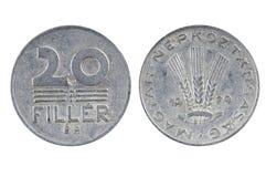 Old Hungarian coin Stock Photos