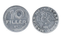 Old Hungarian coin Stock Images