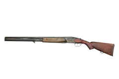 Old hunting gun TOZ-34ER stock photo