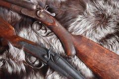 Old Hunting Shotguns Stock Images