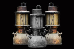 Old hurricane lamp Royalty Free Stock Image