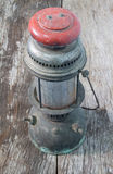 Old hurricane lamp Stock Photo