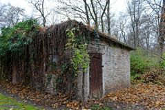 Old hut in Tiergarten, Berlin Royalty Free Stock Photo