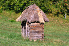Old hut in Ukraine Royalty Free Stock Images