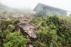 Old Hut on Western Ghat Hills Royalty Free Stock Photography