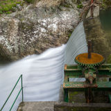 Old hydroelectric dam Royalty Free Stock Photo