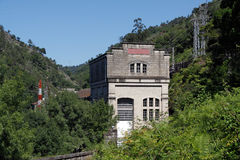 Old hydroelectric facilities Stock Photography