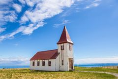 Old Icelandic Church Royalty Free Stock Photography