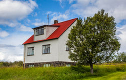 Old Icelandic house royalty free stock photography