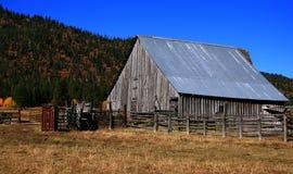 Old Idaho Barn 3 Stock Photo
