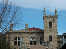 Old Idaho Penitentiary. The Idaho Territorial Prison was built in 1872, operated as a penitentiary for more than one-hundred years and is now a museum Stock Photography
