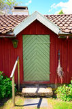 Old idylic farm house in sweden Royalty Free Stock Image