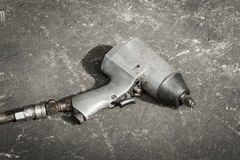 Old impact wrench Stock Photography