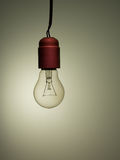Old incandescent light bulb, needs upgrade Royalty Free Stock Photos