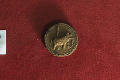 Old indian Coin Stock Photography