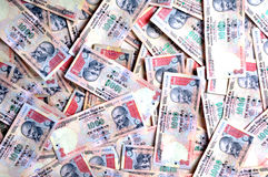 Old Indian currency Royalty Free Stock Images