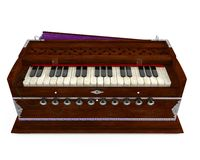 Old Indian harmonium  Stock Photos