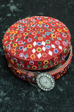 Old indian jewelery box. Stock Photos