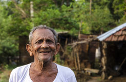 Old Indian Man Stock Photography