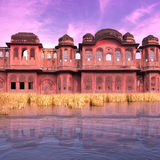 Old indian palace. Royalty Free Stock Photo