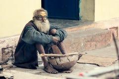 An old indian sadhu Royalty Free Stock Image