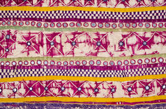 Old Indian tapestry Stock Image