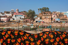 Old indian town Royalty Free Stock Photo