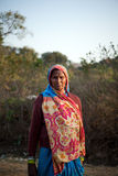 Old indian villager woman Royalty Free Stock Photo