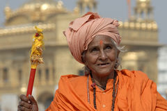 Old Indian Woman Royalty Free Stock Photo