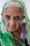 Old indian woman Royalty Free Stock Photography
