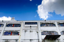 Old industrial architecture Royalty Free Stock Photos