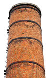 Old industrial brick tower Stock Photography