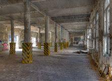 Old industrial building Stock Images