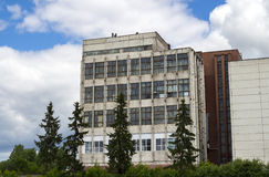 Old industrial building Royalty Free Stock Photos