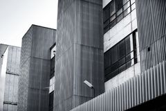 Old industrial building exterior Royalty Free Stock Photo