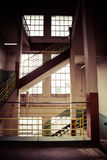 Old industrial building in Gdansk Royalty Free Stock Image