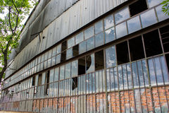 Old industrial building structure Royalty Free Stock Photo