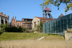 Old industrial buildings (Silesian Museum in Katowice, Poland) Stock Photos