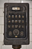 Old industrial control unit Royalty Free Stock Images