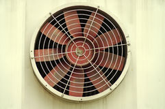 The old industrial fan Royalty Free Stock Image