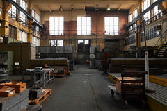 Old industrial interior Stock Photography