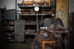 Old industrial interior Royalty Free Stock Photography