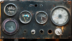 Old industrial  meter Royalty Free Stock Photography