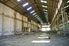 Old Industrial mining factory Royalty Free Stock Photos
