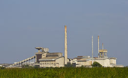 Old industrial plants. Stock Photos
