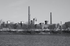 Old industrial site Royalty Free Stock Photography