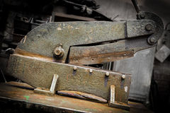 Old industrial tool Royalty Free Stock Images