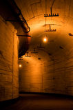 Old industrial tunnel Royalty Free Stock Photo