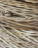 Old industrial white wire roll Royalty Free Stock Photography